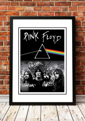 Pink Floyd 'Signatures' Poster