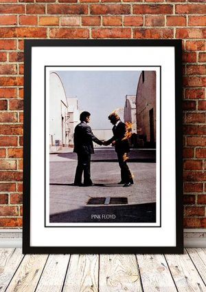 Pink Floyd 'Wish You Were Here' In Store Poster 1975