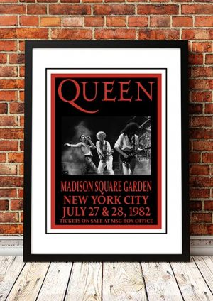 Queen 'Madison Square Garden' New York City, USA 1982