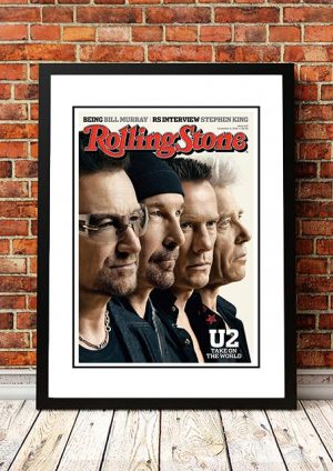 U2 'Rolling Stone Magazine' Cover Poster 2014