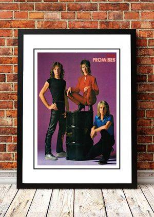 Promises 'Rocky Magazine' Poster, Germany 1978