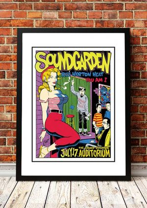 Soundgarden / You Am I 'Grand Olympic Auditorium' Los Angeles, USA 1994