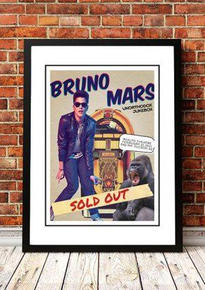 Bruno Mars 'Rialto Theatre' Arizona, USA 2015