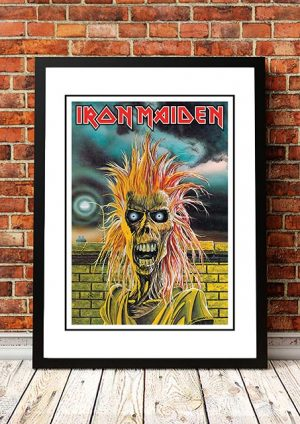 Iron Maiden 'Freaky' In Store Poster