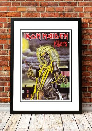 Iron Maiden 'Killers' In Store Poster 1981
