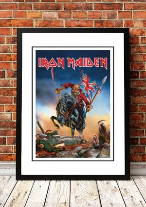 Iron Maiden 'The Trooper' Calendar Poster 2014