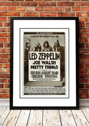 Led Zeppelin 'Oakland Stadium' California, USA 1977