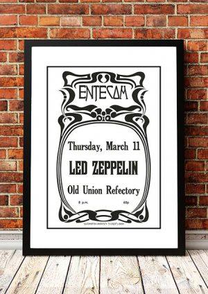 Led Zeppelin 'Old Union Refectory' Southampton, UK 1971