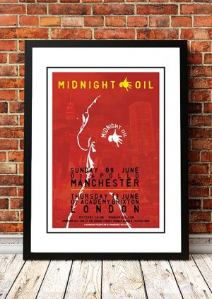 Midnight Oil 'Manchester & London' UK Tour 2019