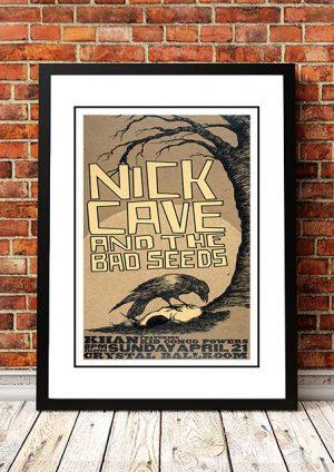 Nick Cave And The Bad Seeds 'Crystal Ballroom' Portland, USA 2008