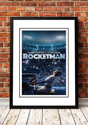 Elton John 'Rocketman' Movie Poster 2019