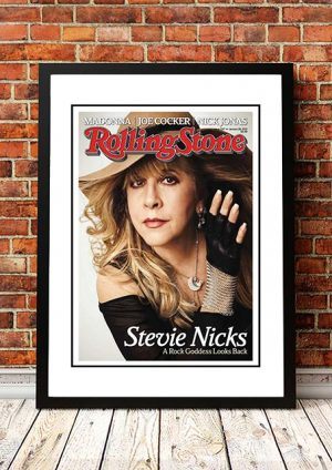 Stevie Nicks / Fleetwood Mac 'Rolling Stone Magazine' Cover Poster 2015