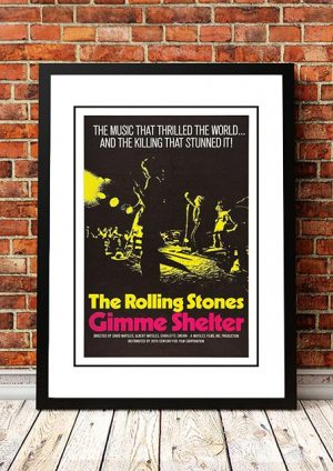 The Rolling Stones 'Gimme Shelter' Movie 1970