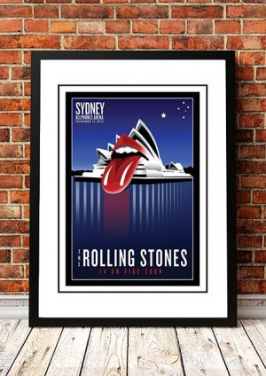 The Rolling Stones Sydney Opera House, Australia 2014