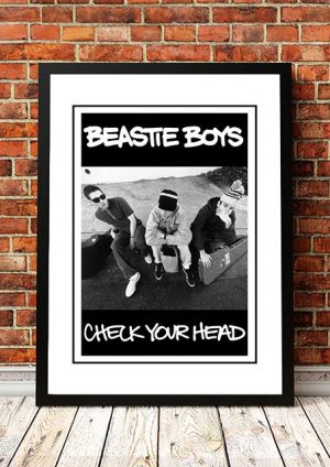 Beastie Boys 'Check Your Head' In Store Poster 1992