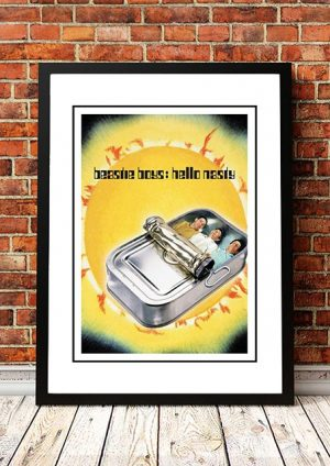 Beastie Boys 'Hello Nasty' In Store Poster 1998