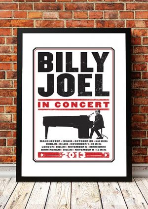 Billy Joel 'UK Tour' 2013