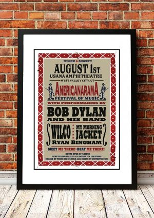 Bob Dylan 'Americanarama Festival' West Valley City, USA 2013