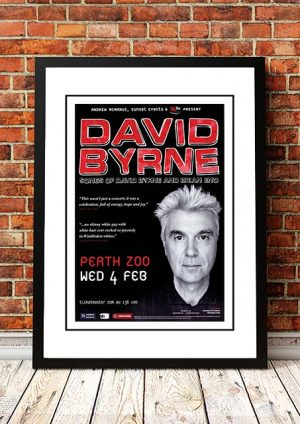 David Byrne (Talking Heads) Perth, Australia 2008