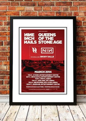 Nine Inch Nails / Queens Of The Stone Age 'Australian Tour' 2014