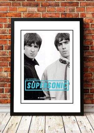 Oasis 'Supersonic' Movie Poster 2016