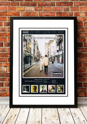 Oasis 'What's The Story Morning Glory?' In Store Poster 1995