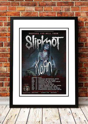 Slipknot / Korn 'Prepare For Hell' UK Tour 2015
