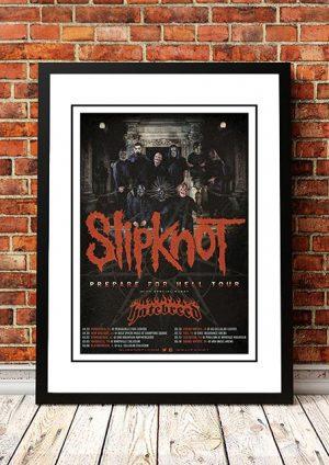 Slipknot / Hatebreed 'Prepare For Hell' US Tour 2014