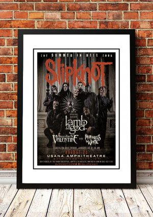 Slipknot 'The Summer In Hell' US Tour 2015