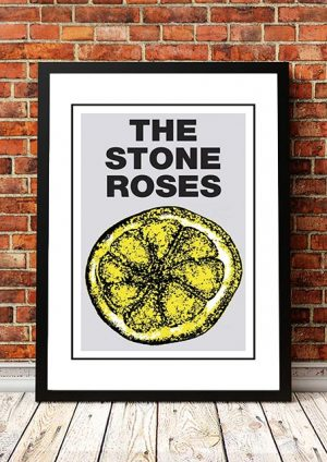 The Stone Roses 'I Dont Wanna Be Adored' In Store Poster 1989