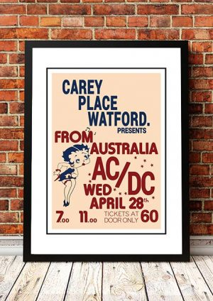 AC/DC 'Carey Place' Watford, UK 1976