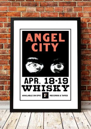 Angel City (The Angels) 'Whisky A Go Go' West Hollywood, USA 1981