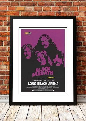 Black Sabbath 'Long Beach Arena' Long Beach, USA 1976