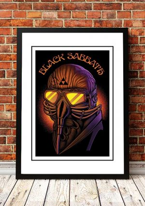 Black Sabbath 'Never Say Die' Band Poster