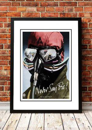 Black Sabbath 'Never Say Die' In Store Poster 1978