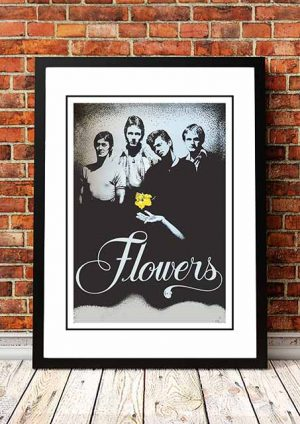 Flowers (Icehouse) Tour Poster 1977