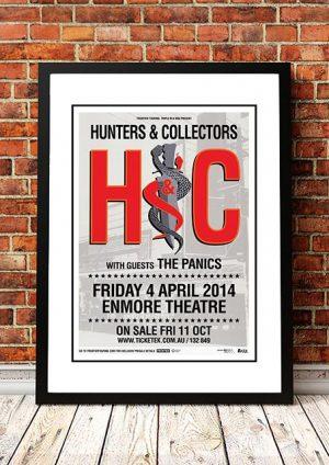 Hunters And Collectors / The Panics 'Enmore Theatre' Sydney, Australia 2014