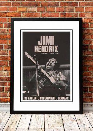 Jimi Hendrix 'KB Hallen' Copenhagen, Denmark 1970