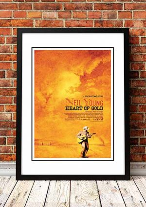 Neil Young 'Heart Of Gold' Movie Poster 2006