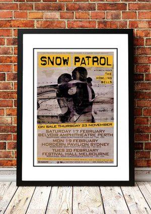 Snow Patrol / The Howling Bells 'Eyes Open' Australian Tour 2007