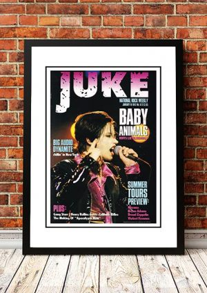 Baby Animals 'Juke Magazine Front Cover' In Store Poster 1992