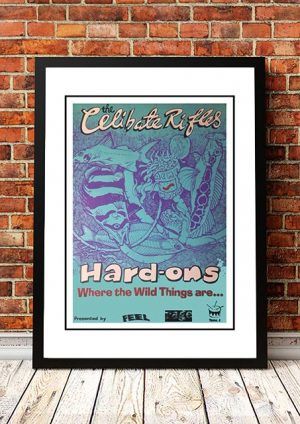 Celibate Rifles / Hard Ons 'Where The Wild Things Are' Tour Poster 1992