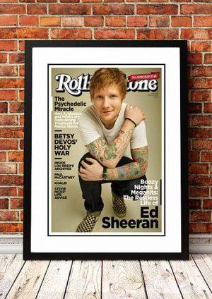 Ed Sheeran 'Rolling Stone Magazine' 2017