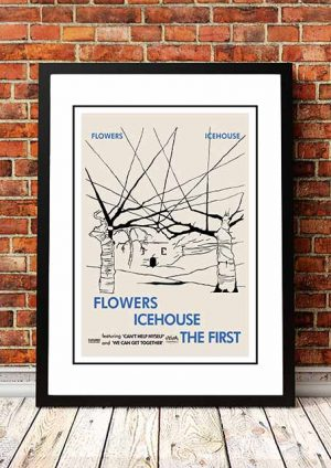 Flowers 'Icehouse' In Store Poster 1980