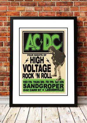 AC/DC 'Sandgroper Hotel' Leederville, Australia 1975