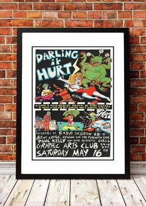 Paul Kelly 'Graphic Arts Club' Sydney, Australia 1987