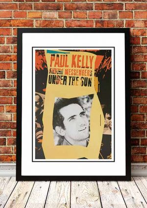 Paul Kelly 'Under The Sun' In Store Poster 1987