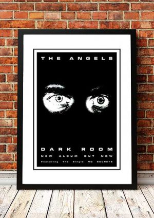 The Angels (Angel City) 'Darkroom' In Store Poster 1980