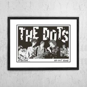 The Dots With Paul Kelly 'E.P Tour Poster' 1979