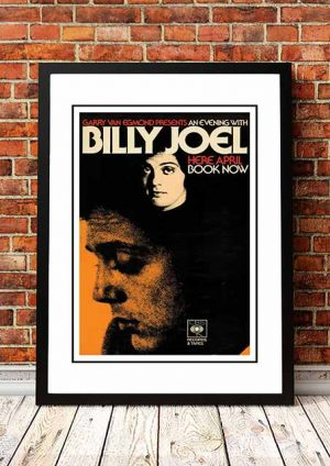Billy Joel 'Australian Tour' 1976